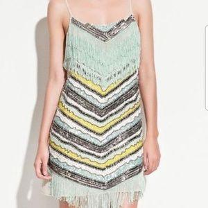 Zara Trafauluc Flapper 20's Dress XS S